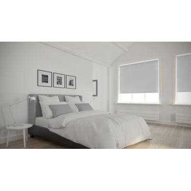 Tenda a rullo oscurante Dublin bianco 210 x 190 cm