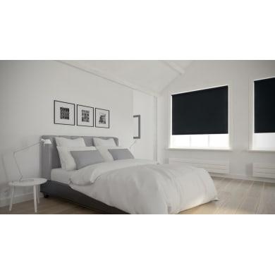 Tenda a rullo oscurante Dublin nero 120 x 190 cm