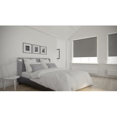 Tenda a rullo Dublin grigio 150x190 cm