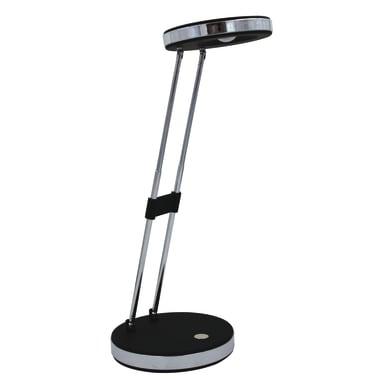Lampada da scrivania Flip nero, alluminio, in plastica, LED integrato 4.5W IP20 INSPIRE