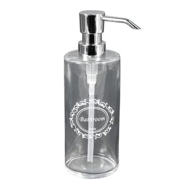 Dispenser sapone Paris trasparente