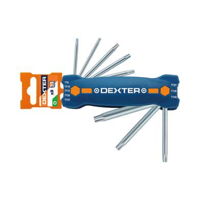 Set di chiave a brugola DEXTER 8 pezzi