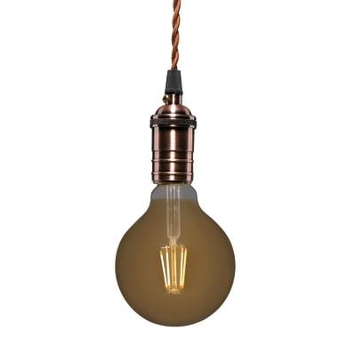 Lampadina Filamento LED E27 globo ambrato 3.5W = 300LM (equiv 28W) 360° LEXMAN