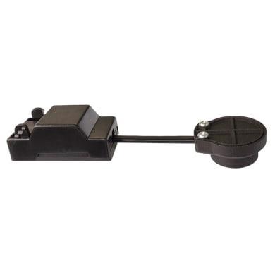 Kit di connessione per faretto da incasso nero in plastica GU10