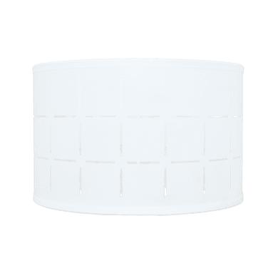 Paralume per lampada da tavolo personalizzabile  Ø 30 cm bianco in pvc