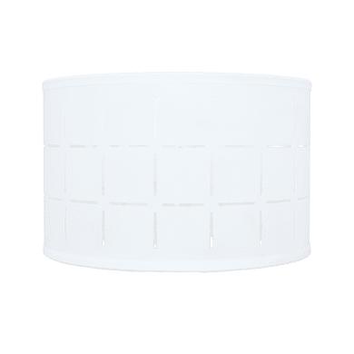 Paralume per lampada da comodino personalizzabile  Ø 20 cm bianco in pvc