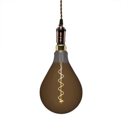 Lampadina Filamento LED E27 pera bianco caldo 5W = 300LM (equiv 28W) 360° LEXMAN