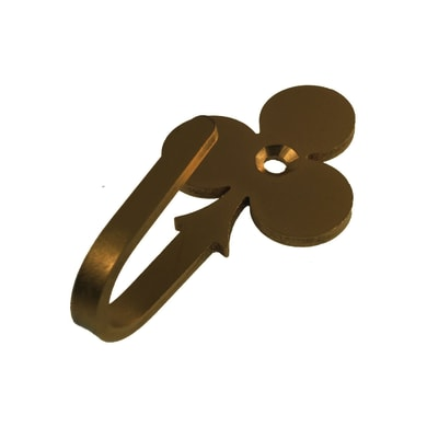Fermatenda Fiori in metallo bronzo