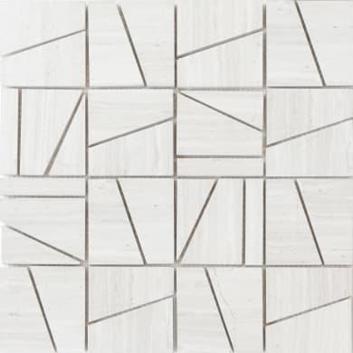 Mosaico Facette H 0.8 x L 30 cm beige