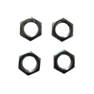 Dado in acciaio grigio 4 pezzi