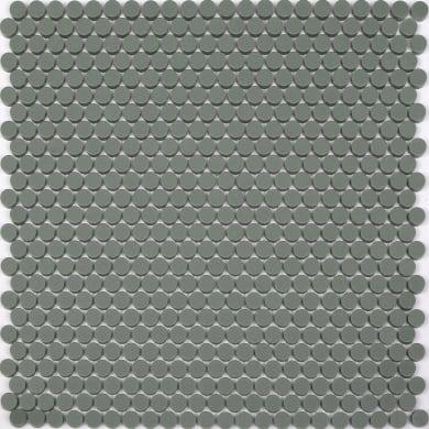 Mosaico Dotloon Green H 0.6 x L 31.4 cm verde