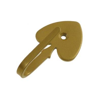Fermatenda Picche in metallo oro