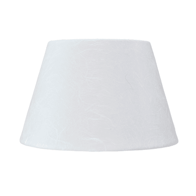 Paralume per lampada da tavolo personalizzabile  Ø 20 cm bianco in carta laccata