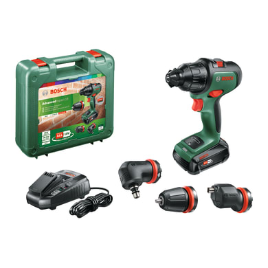 Trapano a batteria con percussione brushless BOSCH Advanced Impact 18 18 V, 2.5 Ah, 1 batteria
