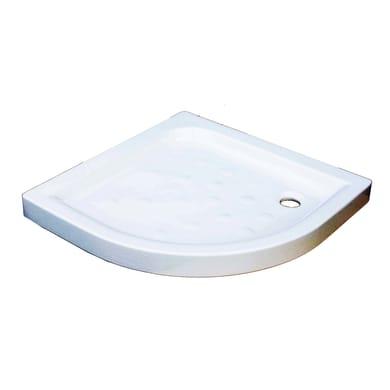 Piatto doccia ceramica Anabela 80 x 80 cm bianco