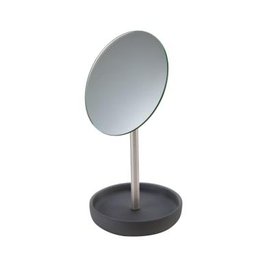 Specchio per il trucco tondo L 15 x H 30 cm Sensea