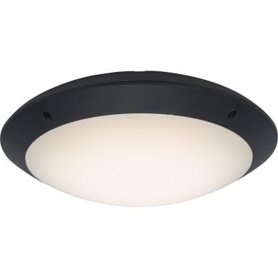 Plafoniera Medway  LED integrato antracite, 12W 1000LM IP66 BRILLIANT