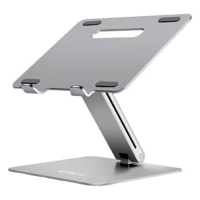 Supporto per pc e tablet L 27 x H 25 x P 26.2 cm in alluminio