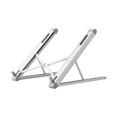 Supporto per pc e tablet L 20.6 x H 17.4 in alluminio