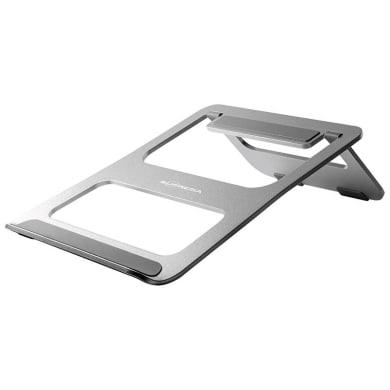 Supporto per pc e tablet L 21 x H 23 in alluminio