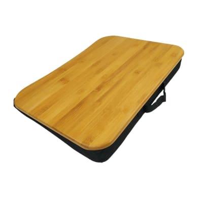 Supporto per pc e tablet L 51 x H 7 x P 37 cm in bambù