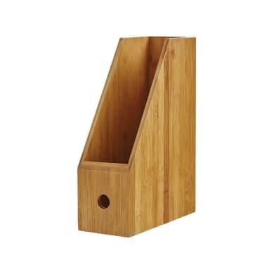 Portadocumenti L 26.3 x H 32.5 x P 10.5 cm in bambù