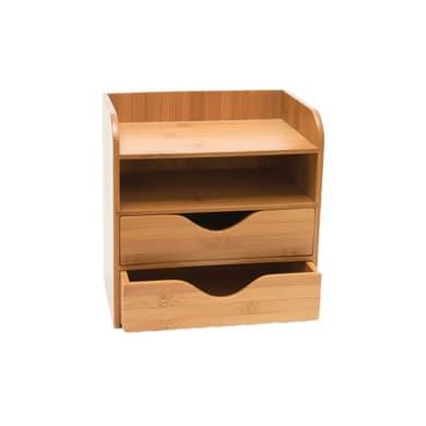 Organizer L 19 x H 21 x P 13 cm in bambù