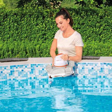 Pulitore a batteria per piscina BESTWAY FLOWCLEAR AQUAGLIDE