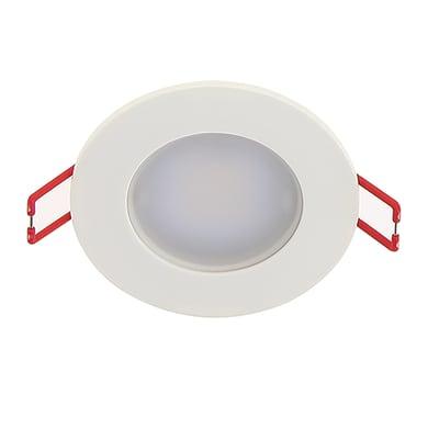 Faretto fisso da incasso orientabile tondo Faretto fisso da incasso LED bianco, diam. 8.6 cm LED integrato 6W 345LM IP65 XANLITE