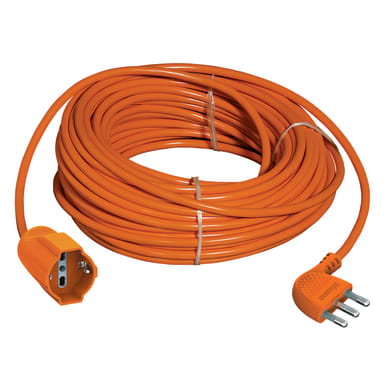 Prolunga Garden IEC 16A arancione 15 m