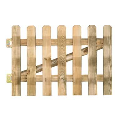 Cancello / portello FOREST STYLE CANCELLETTO MUSTANG  800x1000 mm SP15 MM in legno L 1 x H 0.8 m