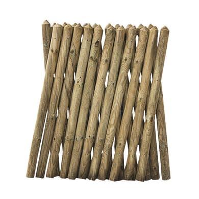 Recinzione FOREST STYLE RECINZIONE PONY 80X250CM SP25 in legno L 250 x H 80 x P 5 cm
