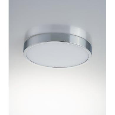 Plafoniera LED-DOMO-R24 LED integrato  in alluminio, cromo, 24W 2200LM IP44