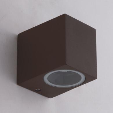 Applique Quboin alluminio, corten, GU10 MAX35W IP54
