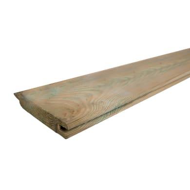 Perlina singola per composizione   L 200 x H 12 cm Sp 22 mm