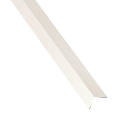 Profilo angolo STANDERS in alluminio 1 m x 1 cm bianco