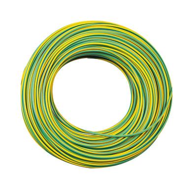 Cavo elettrico giallo/verde fs17  1 filo x 1,5 mm² 25 m LEXMAN Matassa