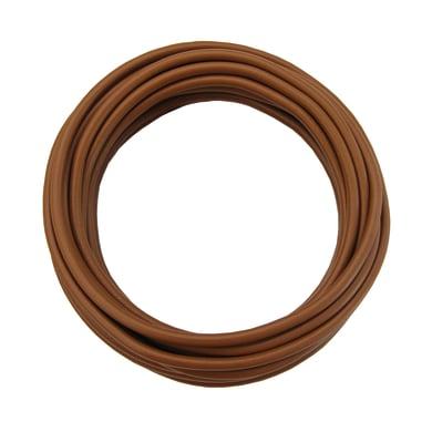 Cavo elettrico marrone fs17  1 filo x 1.5 mm² 25 m LEXMAN Matassa