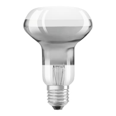 Lampadina LED, E27, Faretto, Trasparente, Luce calda, 2.6W=180LM (equiv 19 W), 36° , OSRAM