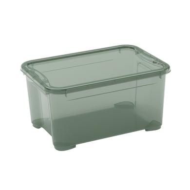 Contenitore T-box L 38 x H 19 x P 26.5 cm verde