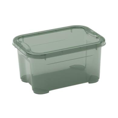 Contenitore L 26 x H 14 x P 19 cm verde