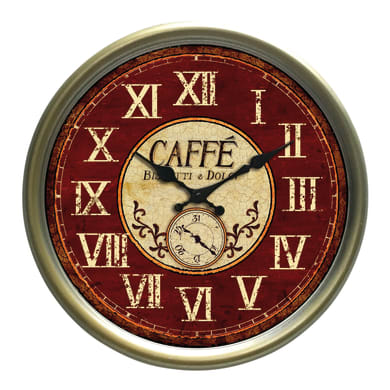 Orologio Caffè 38x38 cm