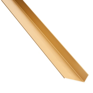 Profilo a l STANDERS in alluminio 1 m x 4 cm oro
