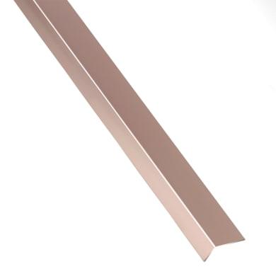 Profilo a l STANDERS in alluminio 2.6 m x 2.35 cm rame