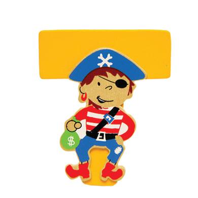 Lettera T pirata , 6 x 7 cm