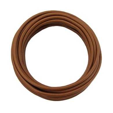 Cavo elettrico marrone fs17  1 filo x 1,5 mm² 5 m LEXMAN Matassa