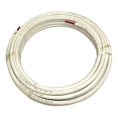 Tubo di rame isolato rame sp. 08 mm  2500 cm