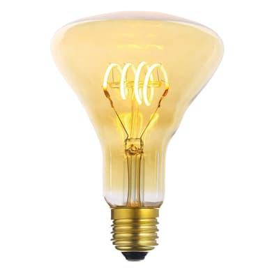 Lampadina decorativa LED, Lantern, E27, Triangolare, Ambra, Luce calda, 4W=200LM (equiv 20 W), 360°