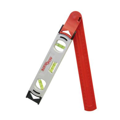Livella manuale magnetica angolo FISCHER DAREX 31 cm 3 fiale