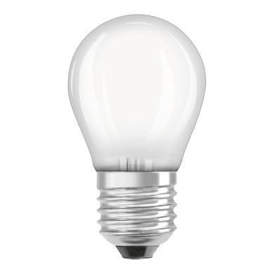Lampadina LED filamento, E27, Sferico, Opaco, Luce calda, 2.8W=250LM (equiv 25 W), 320° , OSRAM